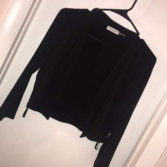 Calvin Klein Jackets & Blazers - Calvin Klein three quarter sleeve cardigan